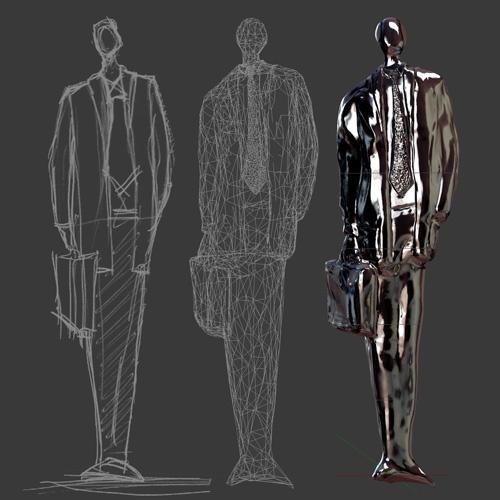 3D-sketch-to-3D