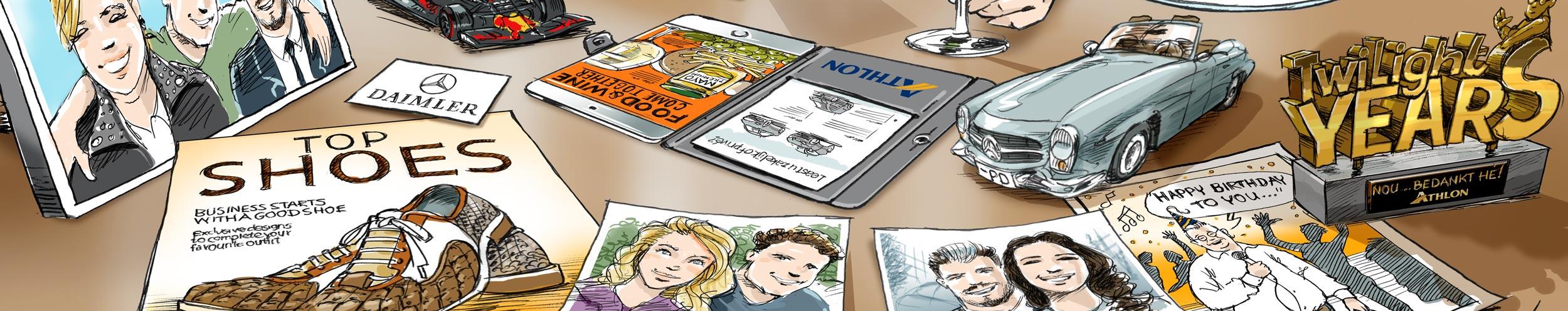 karikatuur-cadeau-banner-Peter-Derks