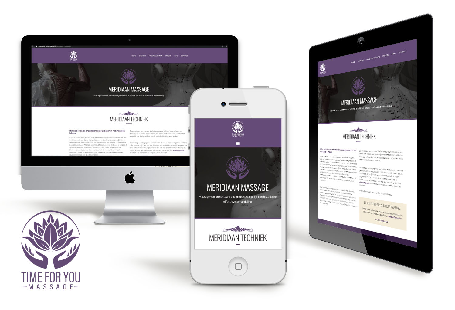 Webdesign-Massage-TimeForYou-grimmstudio