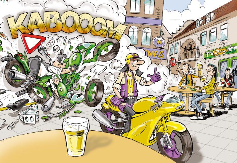003-Karikaturencadeau-stripverhaal
