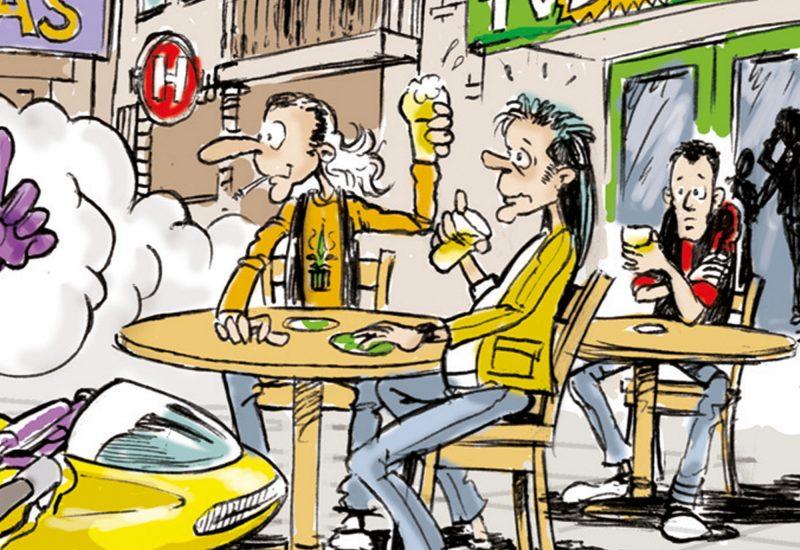 004b-Karikaturencadeau-stripverhaal