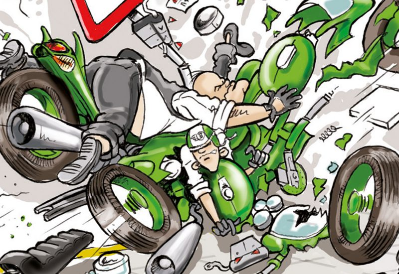 004c-Karikaturencadeau-stripverhaal